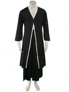 Bleach Kurosaki Ichigo 1th Cotton Polyester Cosplay Costume