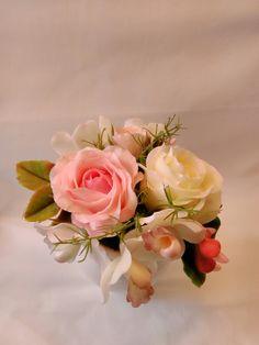 Cold Porcelain by Natasha Waldron Cold Porcelain, Floral Wreath, Wreaths, Rose, Plants, Decor, Jelly Beans, Flowers, Floral Crown