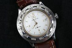 Rare Hamilton Khaki Dive Cronoplan Automatic Dual Time Bezel Watch ETA 2824 | eBay