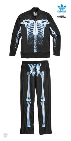 Adidas Jeremy Scott Skeleton Suit