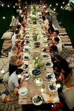 Host a dinner party for friends.