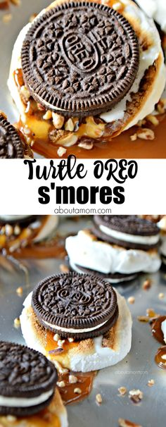 Turtle OREO S'mores (AD)