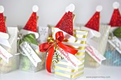 weihnachten mitbringsel Christmas-Treats with velum from the stack Winter Wonderland from Stampin Up! - Weihnachts-Mitbringsel mit Material von Stampin Up! Stampin Up Christmas, Christmas Goodies, Christmas Crafts, Christmas Decorations, Christmas Ideas, Christmas Hamper, Christmas Gift Wrapping, Diy Gift Box, Diy Gifts