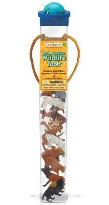 Montessori Materials - North American Wildlife Themed Toob
