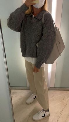 Ootd, Normcore, The North Face, Autumn, Fall, Jackets, Closet, Grey, School