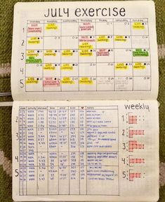 11 bullet journal page ideas for moms of young children fitness journal this is a super cute fitness tracker journal from anthropologie it is brand new and half its original price anthropologie other Bullet Journal Health, Bullet Journal Workout, Fitness Journal, Fitness Planner, Bullet Journal Ideas Pages, Bullet Journal Inspiration, Journal Pages, Diet Journal, Bullet Journal Ideas Templates