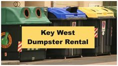 Best Dumpster Rental Key West Are you looking to rent a dumpster to dispose of trash, waste and excess materials from your home, work or construction project...