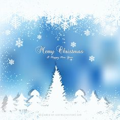Dark Blue Christmas Winter Background with Snow and Trees Blue Sparkle Background, White Pattern Background, Blue Christmas Lights, Blue Background Wallpapers, Christmas Background Images, Green Christmas, Blue Backgrounds, Winter Backgrounds, Christmas Trees