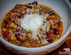 Taco soup is always a family hit. Put an Alaskan twist on this with wild game found in your freezer and make this Moose Taco Soup! Moose Burger Recipe, Moose Recipes, Fish Recipes, Soup Recipes, Cooking Recipes, Game Recipes, Moose Meat, Taco Soup, Healthy Food Choices