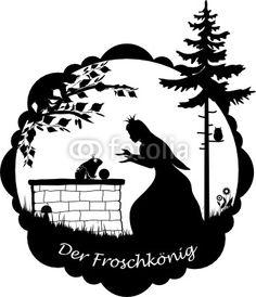 Vektor: Der Froschkönig