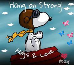 Hang on strong