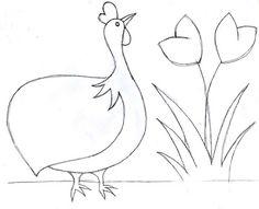 25 melhores ideias de galinha de angola no pinterest galinha desenho colcha com galinha e - Dessin pintade ...