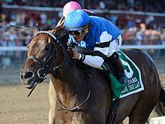 Embellish the Lace turned it around from a ninth-place finish in the June 27 Mother Goose Stakes (gr. I) and took the $600,000 Alabama Stakes (gr. I) Aug. 22 at Saratoga on the front end.