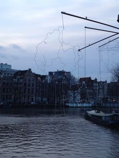 Amsterdam light festival. Amstel.