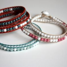 Shut up!!! Use Morse Code dots and dashes to embed secret messages in these simple beaded wrap bracelets. No way!!