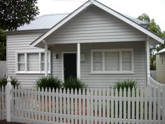 Weatherboard home after renovation