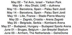 TWENTYSEVENTEEN World Tour 2017 Leg 3  Middle East / Europe Part 2