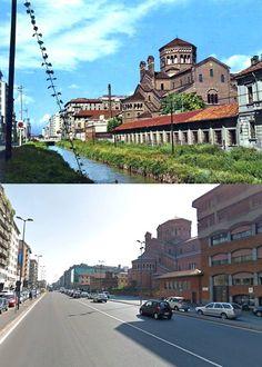 Via Melchiorre Gioia e la Martesana - #Milan #Italy