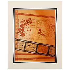 Mickey Mouse and Goofy ''Comic Mickey'' Art Print by Costa Alavezos