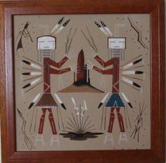 Navajo Male and Female Yei