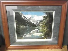 $75 + $4 ship for sale 2020 Find many great new & used options and get the best deals for Beautifully Framed Photo-LAKE LOUISE by Don Harmon-1960s-1970s at the best online prices at eBay! Free shipping for many products! Vintage Art Prints, Rocky Mountains, 1970s, Canvas Prints, Fine Art, Free Shipping, Frame, Pictures, Beauty