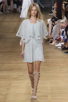 Chloe Spring/Summer 2015 ready-to-wear #PFW #Paris #FashionWeek