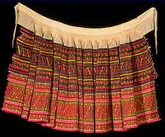 I actually still have one of these!!!Traditional Hmong skirt