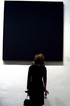 © Burt Glinn, Ad Reinhardt, MoMA, 1964