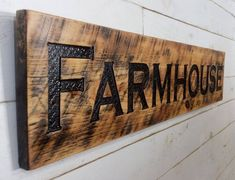 Shop a great selection of Farmhouse Sign 48 Horizontal - Carved stained Cypress Board Rustic Decor. Find new offer and Similar products for Farmhouse Sign 48 Horizontal - Carved stained Cypress Board Rustic Decor. Carved Wood Signs, Diy Wood Signs, Personalized Wood Signs, Farmhouse Signs, Rustic Farmhouse, Farmhouse Style, Cypress Wood, Diy Cutting Board, Diy Wood Projects