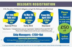 Maritime Shipping Events UK: Energy Efficiency in Shipping Conference For more information, please contact us 207 1129 183