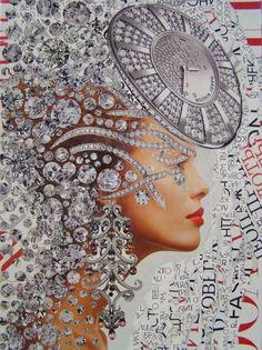 Emilia Elfe  (handmade collage) #emiliaelfe #handmadecollage  #collage #collageart  #design #fashioncollage #fashion #fineart #fashionillustration   #portrait  #art  #mixedmedia #contemporaryart