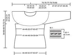 DROPS 107-23 - Pull DROPS en Paris avec côtes et point ajouré. Du S au XXXL - Free pattern by DROPS Design