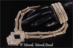 Le Bijou Art Deco : Manek-Manek Beads - Jewelry | Kits | Beads | Patterns