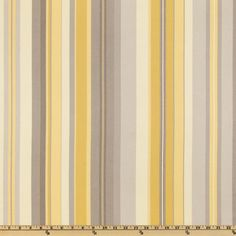 Waverly Sidewalk Stripe Silver Lining $13.58/y Contents: 100% cotton Fabric Weight: drapery