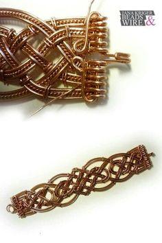 Diy Bracelets Beads Tutorial Wire Jewelry 57 Ideas For 2019 Copper Wire Jewelry, Wire Jewelry Making, Wire Jewelry Designs, Beaded Jewelry, Jewellery, Diy Jewelry, Jewelry Bracelets, Bijoux Wire Wrap, Wire Wrapped Bracelet