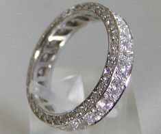 Diamond  Wedding Bands For Women Eternity Bands. Love it. One day!