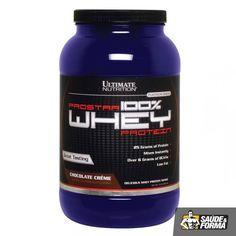 ProStar Whey da Ultimate Nutrition contém apenas aminoácidos que ocorrem naturalmente através da 100% Whey Protein de primeira qualidade.  Não contém soja, trigo nem caseína. ProStar Whey é isolada por um sistema de processamento complexo de baixa temperatura que utiliza um processo próprio de micro e ultra filtração para obter proteína de soro de leite isolada da mais alta qualidade.