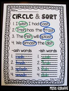 Amazing digraph word work activities to help kids learn how to read words with consonant digraphs