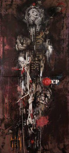 """Saatchi Art Artist Zsolt Gyarmati; Painting, """"Hide in My Bone Shadow"""" #art"""