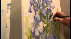 Ev_Hales_Painting_Iris_flowers