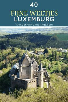Learn about Luxembourg castle, the procession of Echternach, the country's food and its many gardens with these interesting facts about Luxembourg Europe Travel Tips, European Travel, Travel Advice, Travel Guides, Places To Travel, Travel Destinations, Places To Visit, Backpacking Europe, Travel Goals