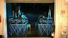 """""""20 settembre. Gli spazi di Officina Teatro San Leucio in allestimento."""" _Sguardo di Marialuisa Giordano_"""