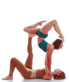 Acro yoga - a sport, an art, a spiritual practice - Archzine.fr Acro yoga – a sport, an art, a spiritual practice Yoga Bewegungen, Yoga Pilates, Yoga Dance, Yoga Meditation, Dance Moves, Yoga Art, Couple Yoga, Partner Yoga, Yoga Challenge