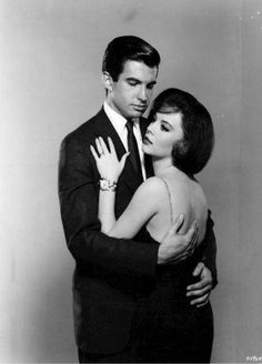 Natalie Wood and George Hamilton in All the Fine Young Cannibals (1960)