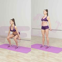 Squats are among to the most performed exercises at the gym, however, they can be done anywhere, with or without weights, which make them competitive. They are the type of exercises that every woma…