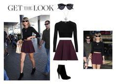 """""""Taylor at the airport"""" by rikkualbhed22 ❤ liked on Polyvore featuring Elizabeth and James, Pandora, ALDO, Ivy Park, Le Specs, GetTheLook and airportstyle"""