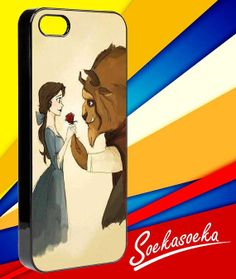 Disney Beauty and the beast iPhone 4/4s/5 Case by SoekaSoeka, $15.00