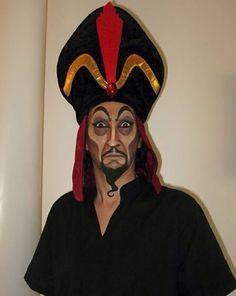 Disney villain makeup.  Scar.  Jafar. Hades. Kylo Ren...