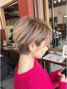 Pin on ショートヘア Asian Short Hair, Short Hair Cuts, Cute Hairstyles For Short Hair, Bob Hairstyles, Bob Haircuts, Love Hair, Great Hair, Shot Hair Styles, Long Hair Styles