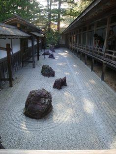 Banryutei Rock Garden --  the largest rock garden in Japan.